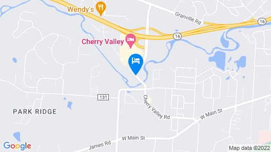 Cherry Valley Hotel Newark Ohio Map