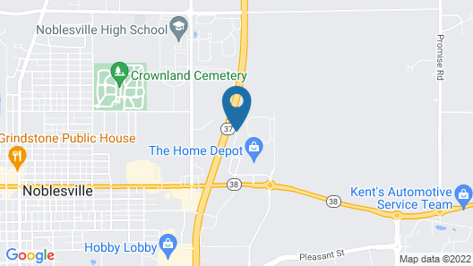 Fairfield Inn & Suites by Marriott Indianapolis Noblesville Map