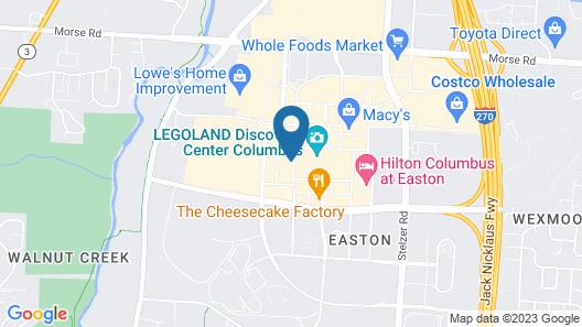 Residence Inn Marriott Easton Map