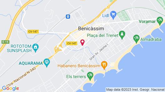 Hotel Bulevard Map