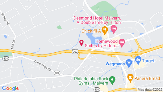 Homewood Suites by Hilton Philadelphia Great Valley Map
