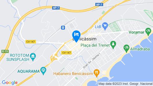 Hotel Eco Avenida Map