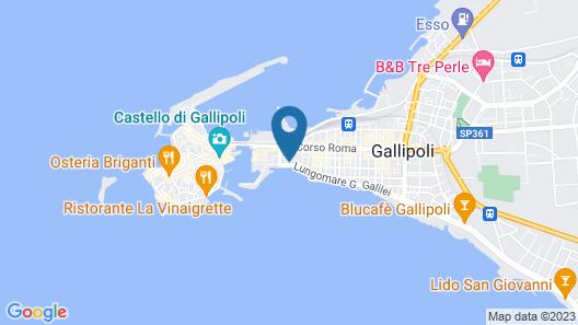 Appartamento Spinalonga Map