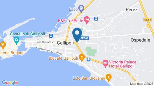 Corte Salentina Map