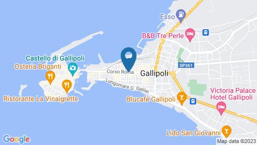 Hotel Città Bella Map