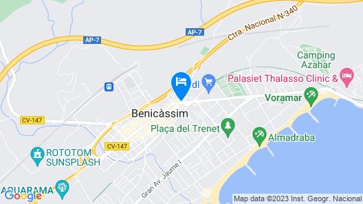 Hostal Boutique Beni Map