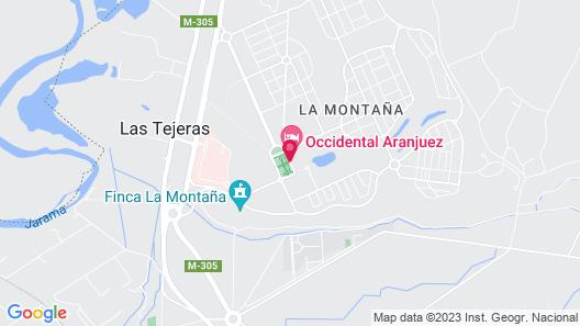 Occidental Aranjuez Map