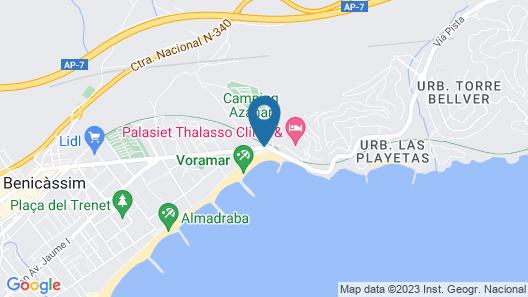 Hotel Voramar Map