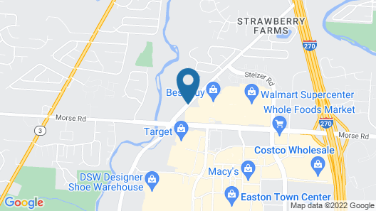 Holiday Inn Express & Suites Columbus - Easton Area Map