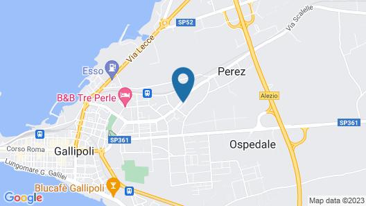 B&B Arcobaleno Map
