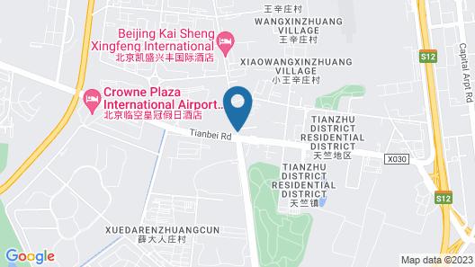 Beijing Konggang Express Hotel Map