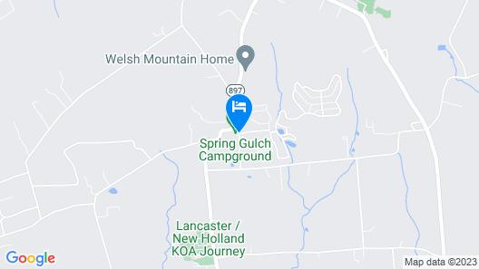 Spring Gulch RV Campground Map