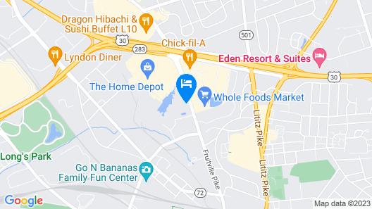Home2 Suites by Hilton Lancaster Map