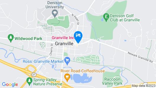 The Buxton Inn Map