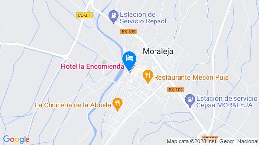 Hotel La Encomienda Map
