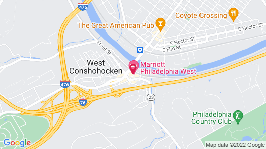 Marriott Philadelphia West Map