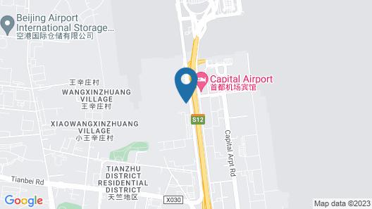 Lihao Hotel Airport Guo Zhan Map