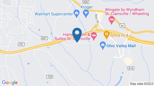 Residence Inn Wheeling-St. Clairsville, OH Map