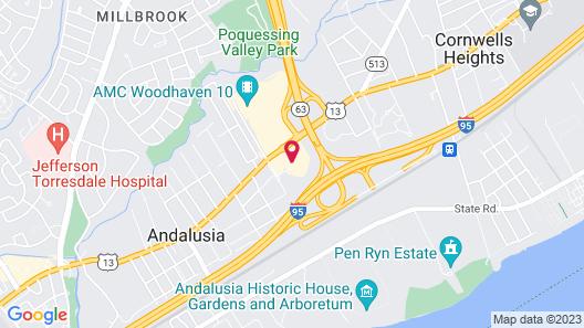 Holiday Inn Express Philadelphia NE - Bensalem, an IHG Hotel Map
