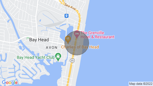Beautiful Bay Head Spring/summer Getaway With Private Pool one Block From Ocean Map
