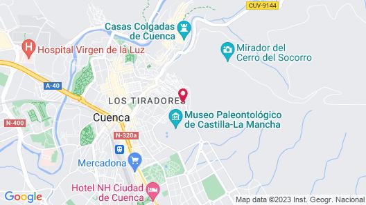 Alojamiento Cerro Socorro Map