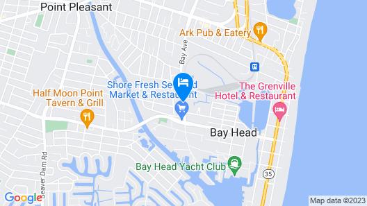 Point Pleasant Inn Map
