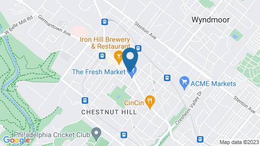 Chestnut Hill Hotel Map