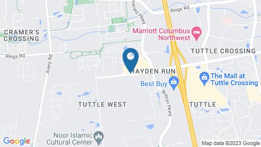 Holiday Inn Express Columbus-Dublin, an IHG Hotel Map