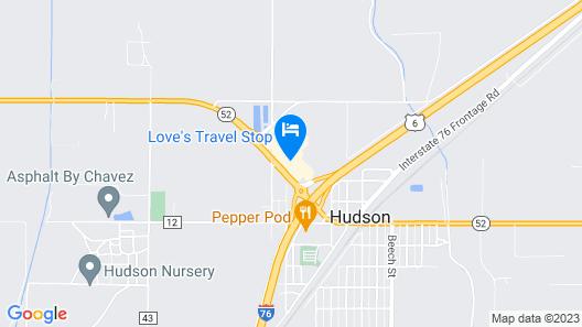 Best Western Plus Hudson Hotel & Suites Map