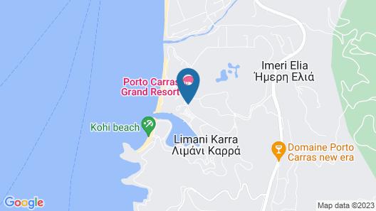 Porto Carras Meliton Map
