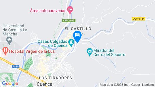 Parador de Cuenca Map