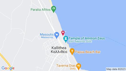 Margarita Sea Side Hotel Map