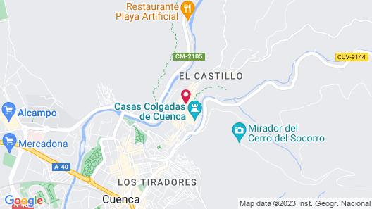 Hotel Convento del Giraldo Map
