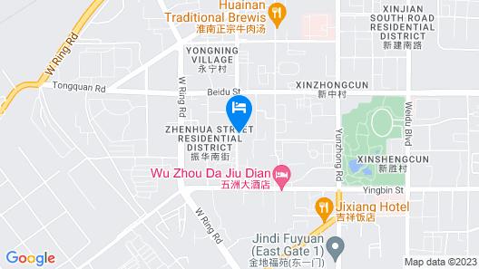 Jinjiang Inn Datong Zhenhua Street Map