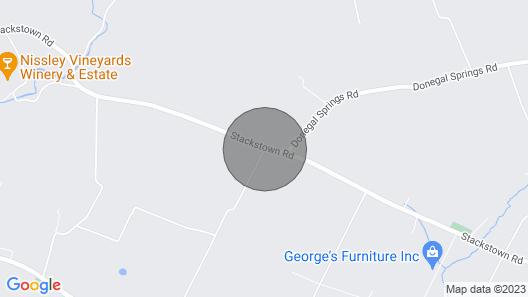 The Cabin at Sunny Ridge Farm Map