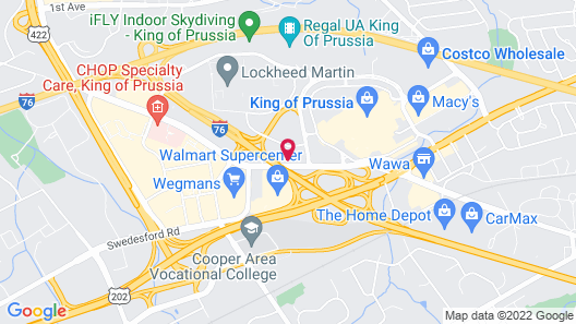 Holiday Inn Express Hotel & Suites King of Prussia, an IHG Hotel Map
