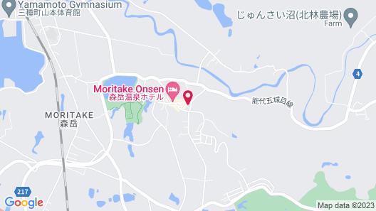Hotel Moriyamakan Map