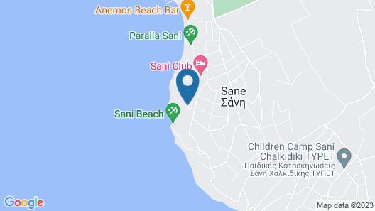 Sani Dunes Map
