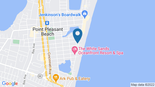 Sand Pebble Motor Lodge Map