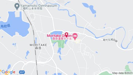 Moritake Onsen Yuparu Map