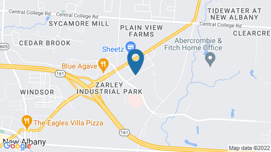 Home2 Suites by Hilton New Albany Columbus Map