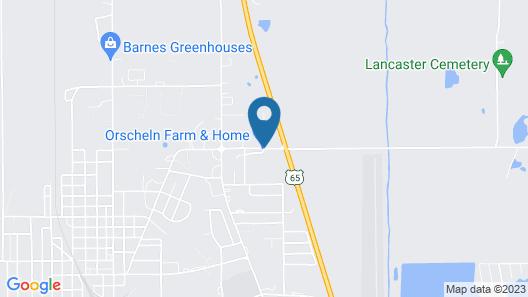 Cobblestone Inn & Suites - Trenton Map