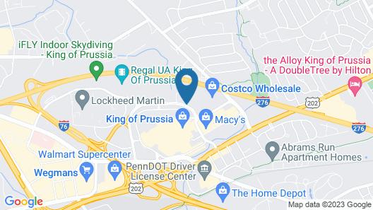 Fairfield Inn by Marriott Philadelphia Valley Forge Map