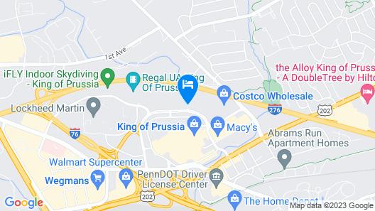 Hyatt House Philadelphia/King of Prussia Map