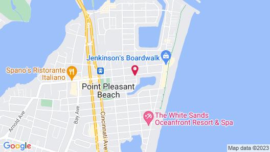The Amethyst Beach Motel Map