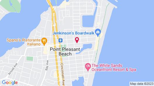 Pelican Point Motel Map