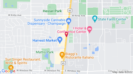 Home2 Suites by Hilton Champaign/Urbana Map