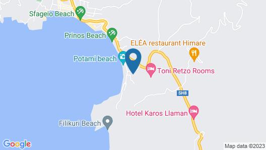Zahos Hotel Map