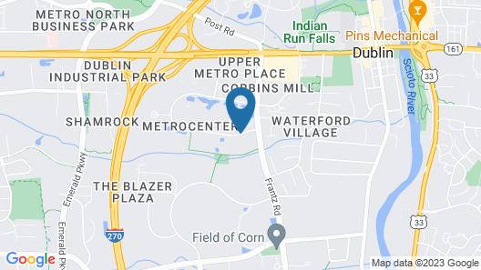 Sonesta ES Suites Columbus Dublin Map