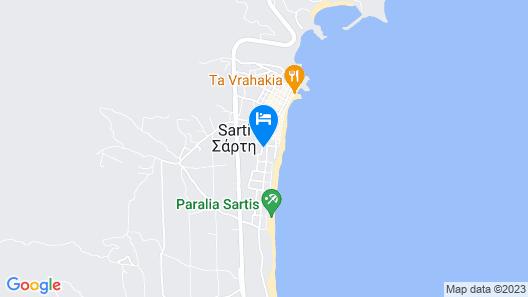Sarti Plaza Map